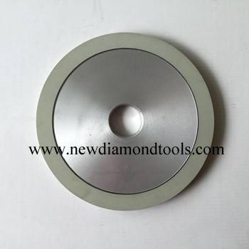 Diamond bruting wheel