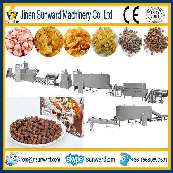 Automatic Corn Flakes Processing Line Machinery