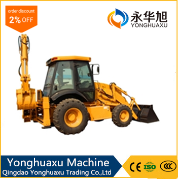 220V engine heater mini wheel loader with free joystick quick hitch