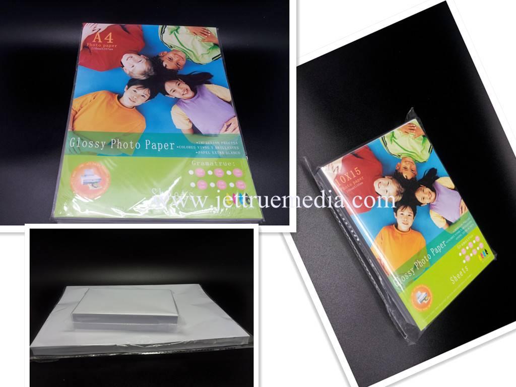 200g Glossy Cast Coated Photo Paper for inkjet printer