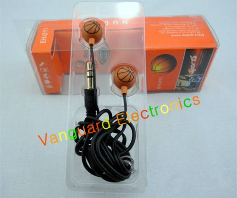 Basketball and football earphone