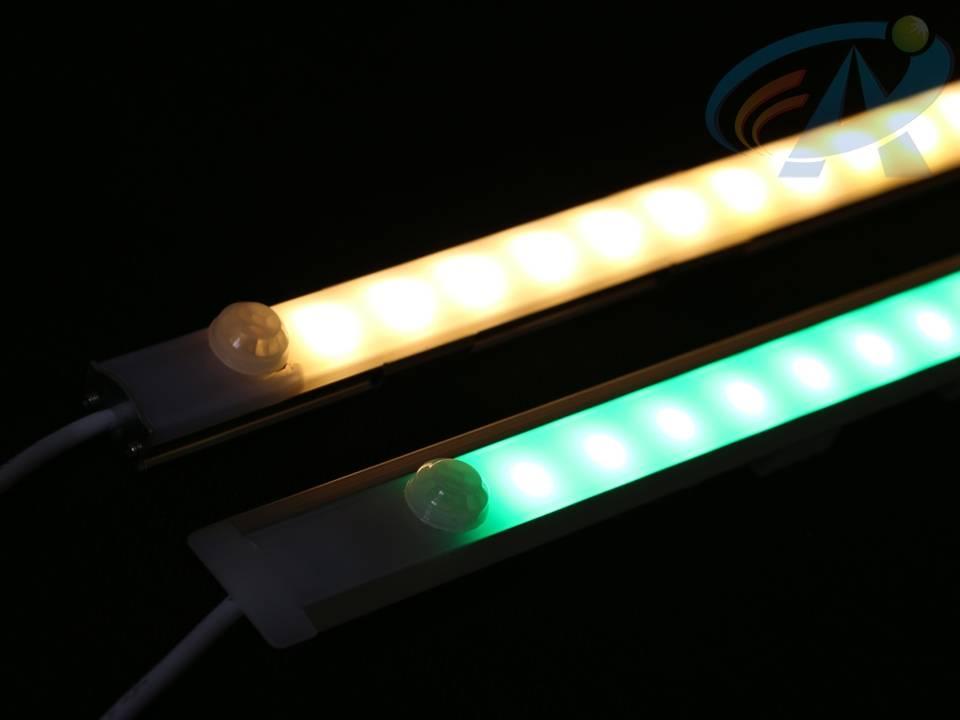 DC12V 14.4W SMD5050 Aluminum Track Infrared Body Sensor LED Strip Light