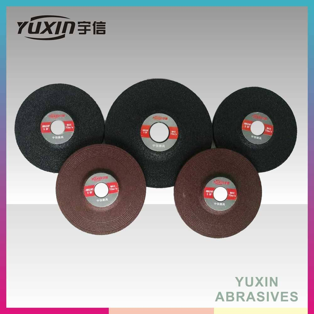 High Quality Resin Bonded Grinding Discs