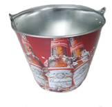 tin beer bucket