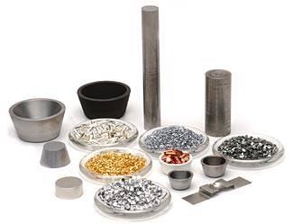 Metal evaporation materials