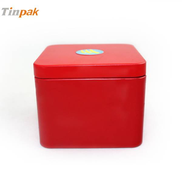 little gift tin box with inner lid