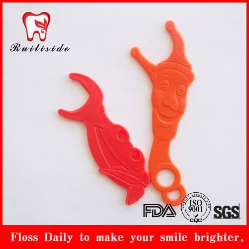 anumai shape dental floss picks for kids
