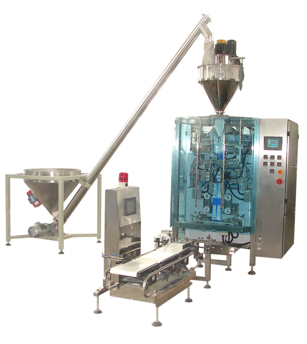 1kg powder pouch form fill seal packaging machine