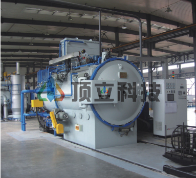 Horizontal Twin Chamber Vacuum Oil Quenching Gas Cooling Furnace