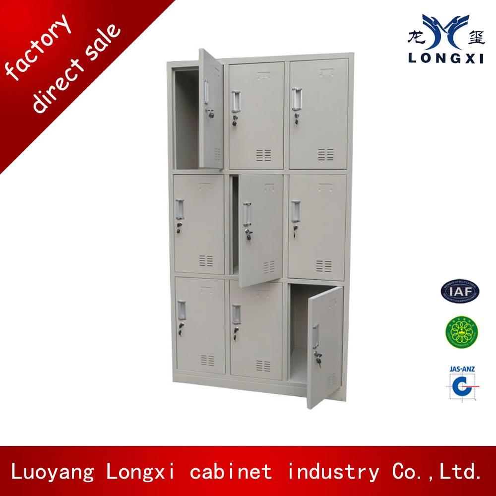 Popular Selling Supermarket Storage Cabinets Steel Locker Cabinet
