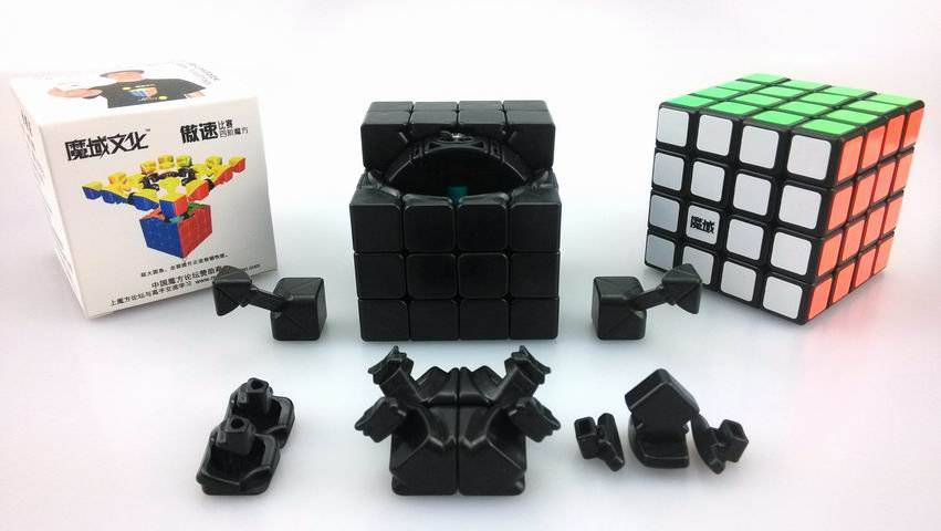 MoYu Aosu 4×4 Plastic Cube Magic Puzzle