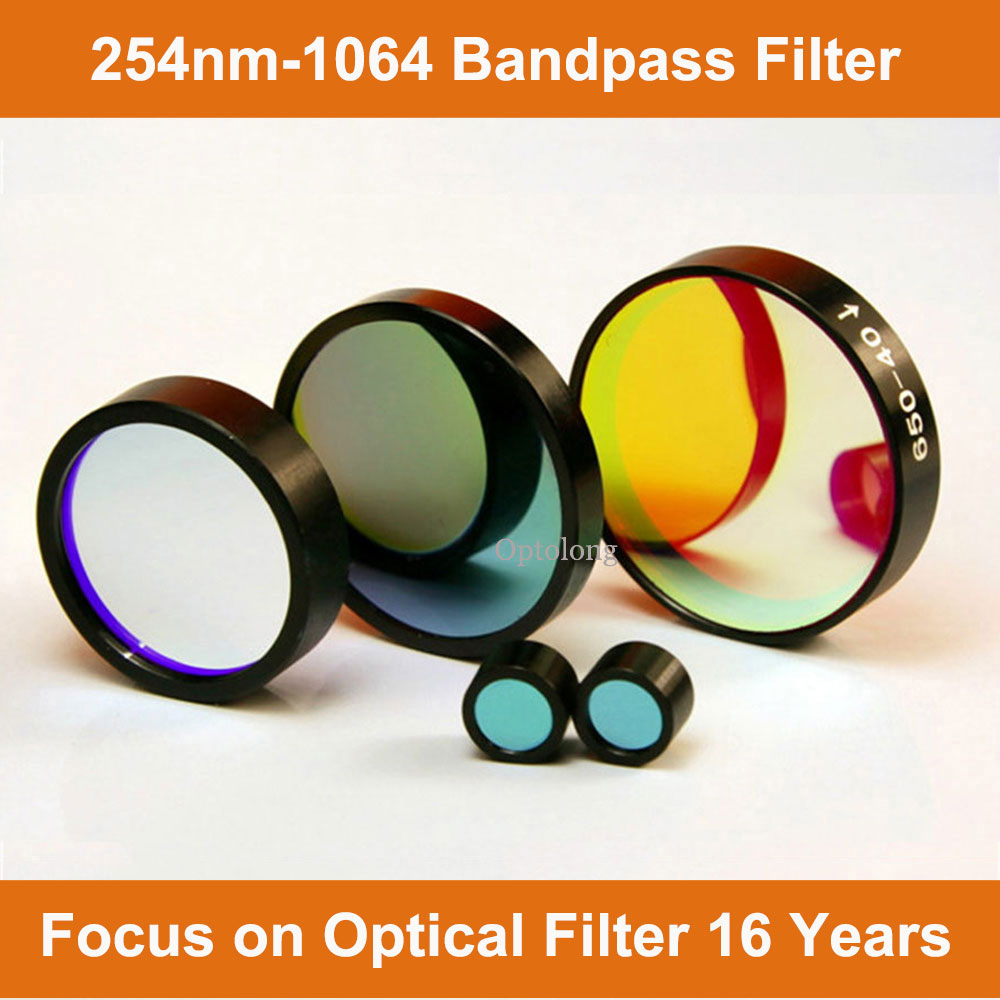 Red Filter Glass 230 nm China Optical Lens for Fluorescence Detector