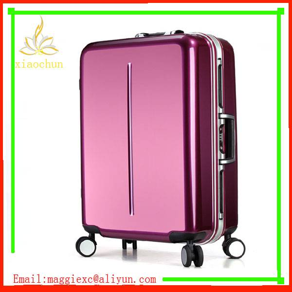 factory abs pc custom printing luggage sets