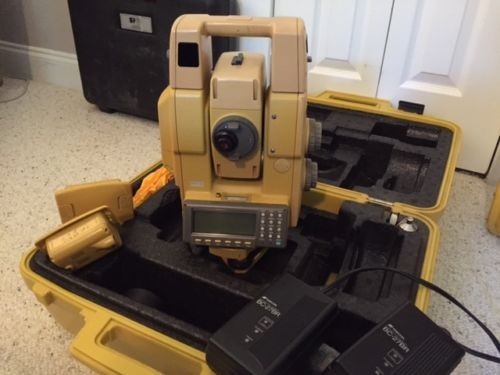 Used Topcon GTS-825A Robotic Total Station