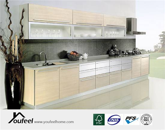 Modern Customized Particle Board Kitchen Cabinet