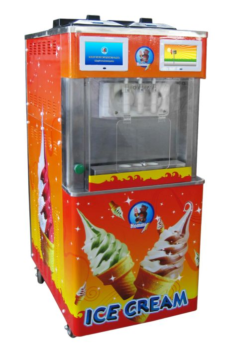 Automatic Ice Cream Machine (Patent Approved) (HM736)