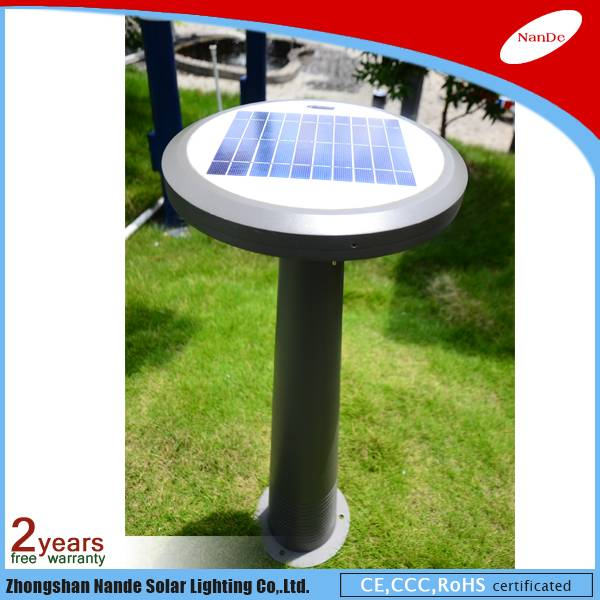 new design solar LED lawn light with factory price