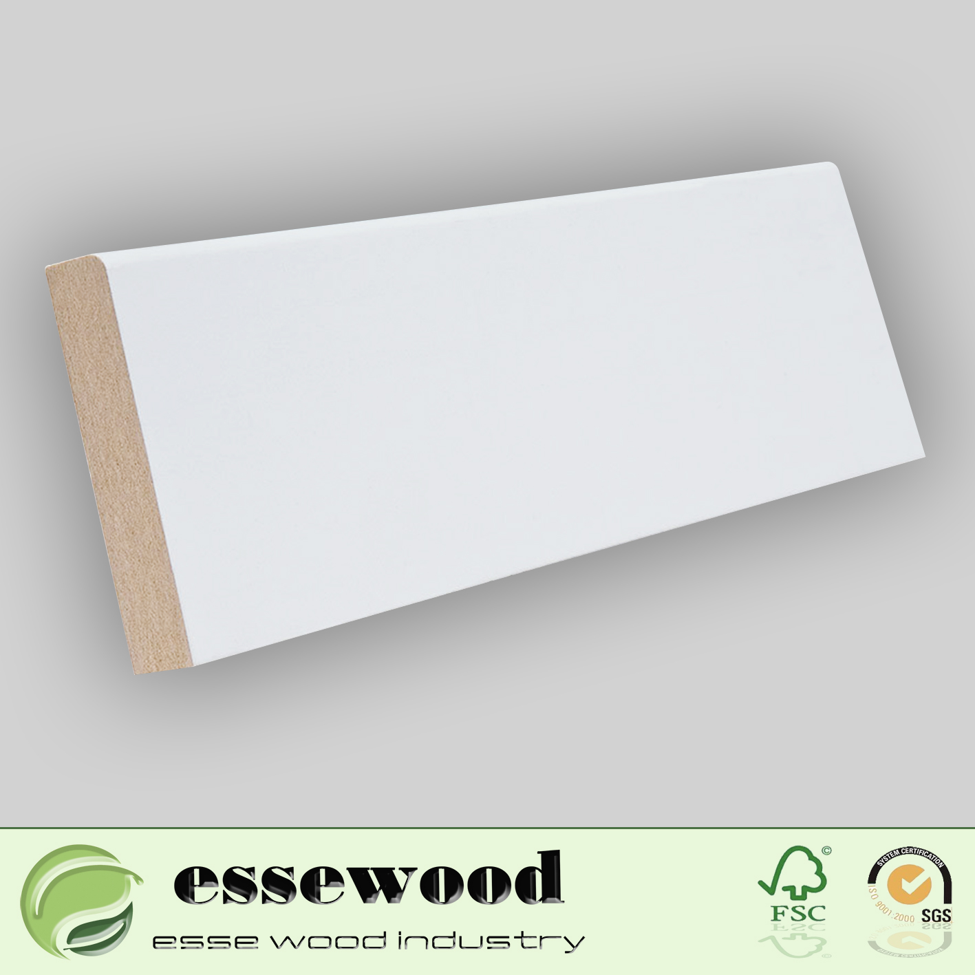 Primed Decorative Wood Moulding MDF Moulding