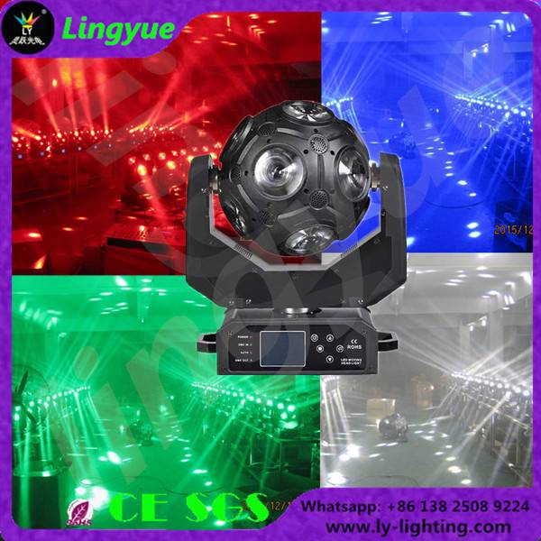 12X12W RGBW 4in1 football led beam moving head light