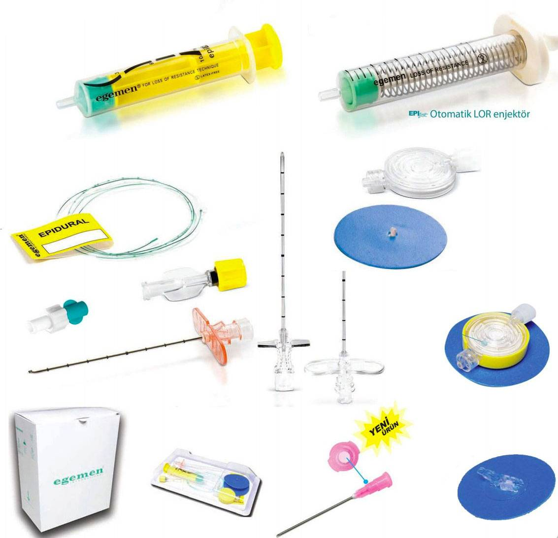 Epifix Epidural Anesthesia Sets