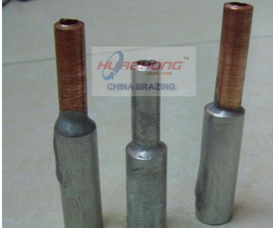COPPER TO ALUMINUM FLUX CORED WELDING WIRE
