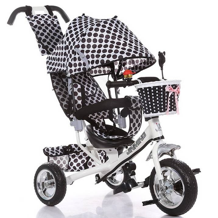 QJ-522 4 in 1 tricycle for 2 to 5 years old /3 wheels ride on / Qiangjiu Bicycle Group