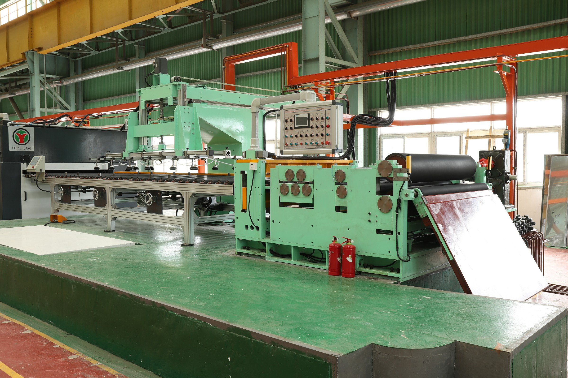 2b/ no.1 surface plate pinch and levelling polishing machine in wet type with water and oil