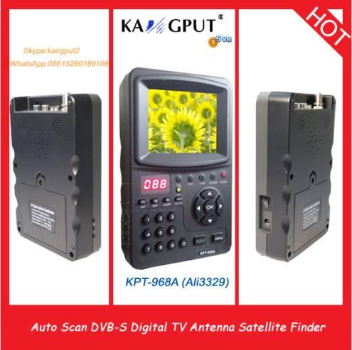 3.5 Inch handheld digital satellite finder KPT968A