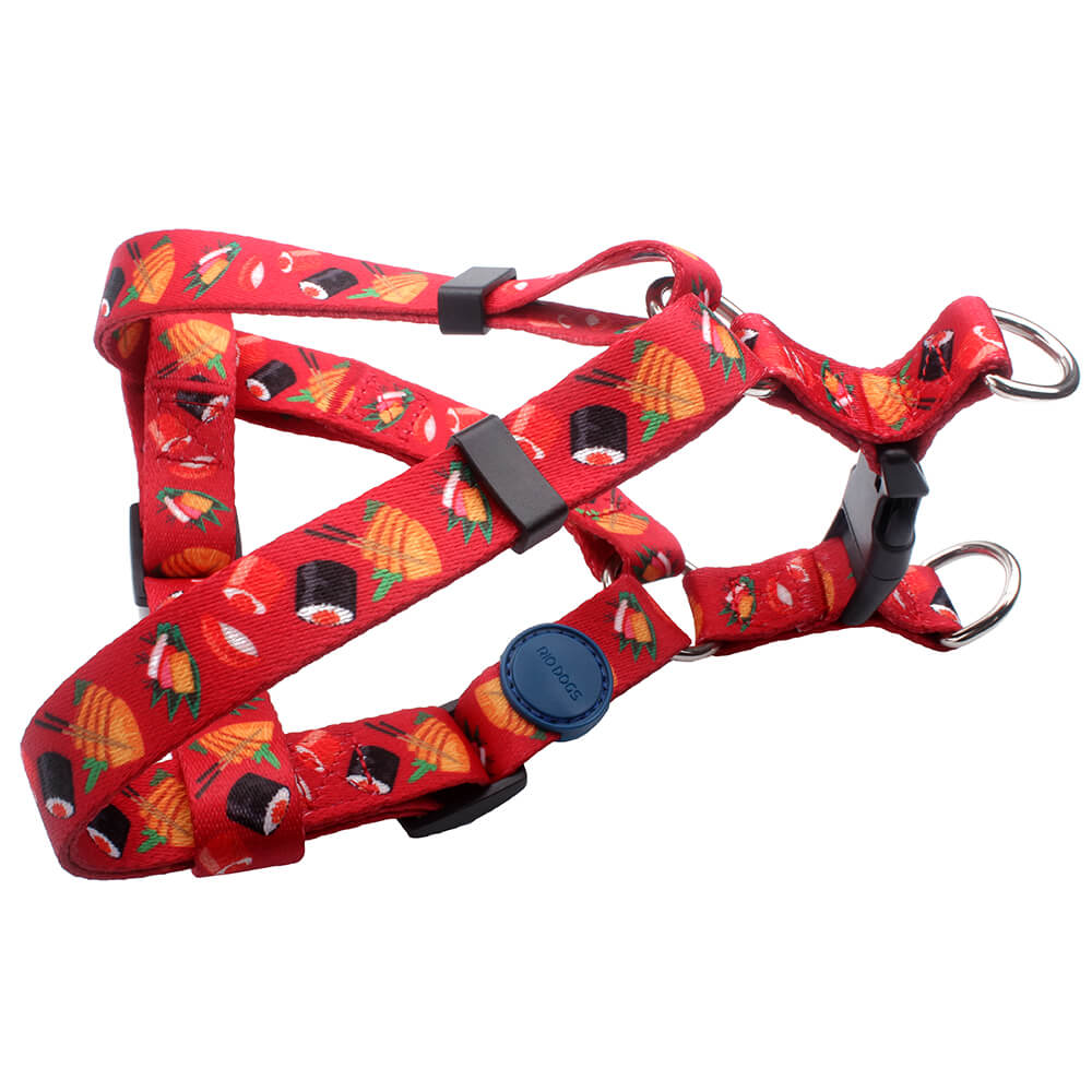 Puppy Harness: Polyester Printed Puppy Harness Factory