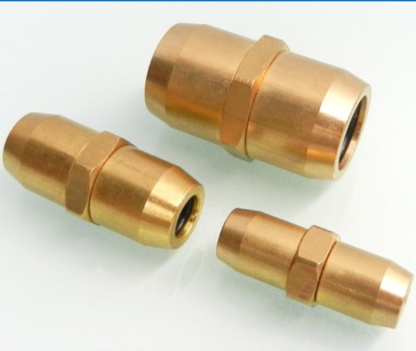 Polyamide hose connector equal hose coupling PA12 hose fitting
