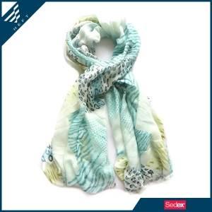 Wild style leopard twil animal print scarf - HEFT fashion scarves and shawls