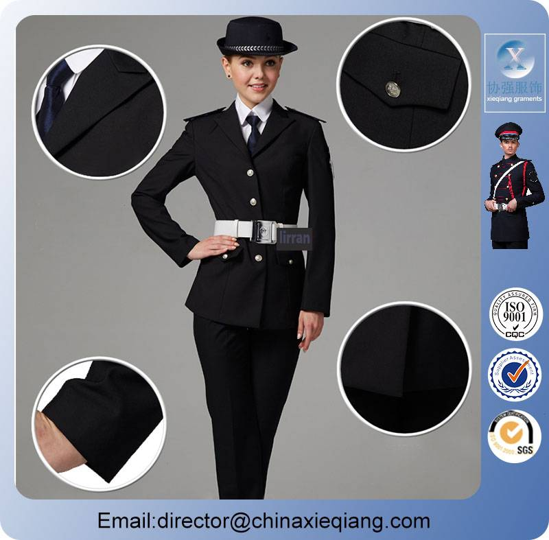 New arrivals custom-made women security uniform