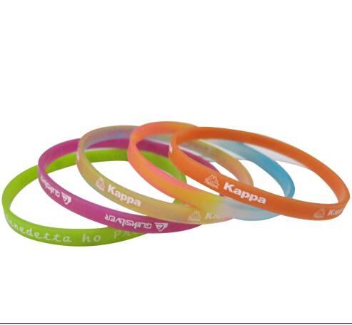 promotional silicone bracelet, custom silicone wristband