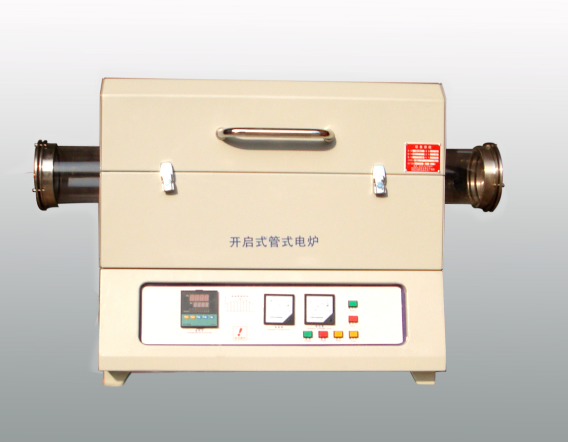 1000-1400 centigrade Openable tube furnace