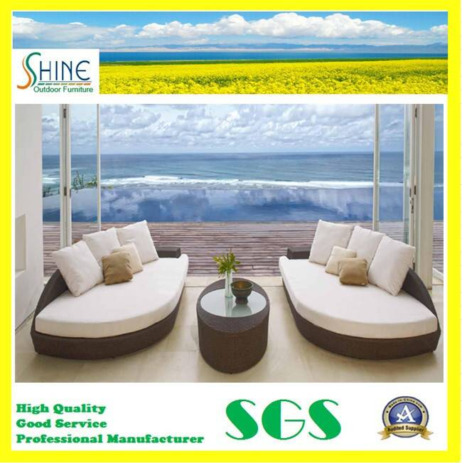 Hot Sale Rattan Outdoor Sleeper Sofa SFM3150725-01