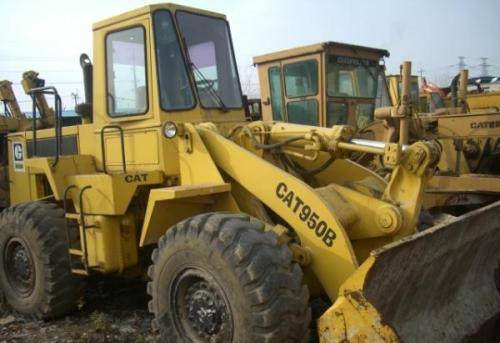 Used CAT950B wheel loader