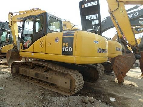 Used Komatsu PC160-7 Excavator