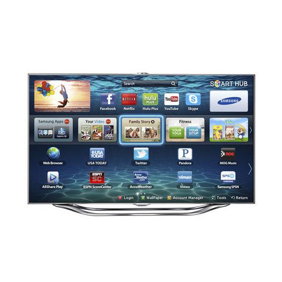 SAMSUNG UN65ES8000F UN65D8000 65inch 3D Ultra Slim LED LCD Internet Smart TV FULL HDTV Wifi