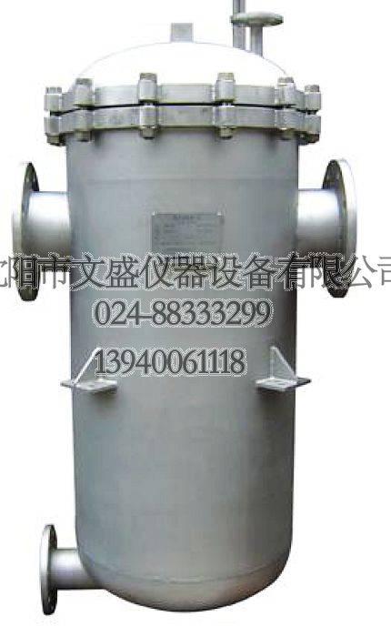 Basket filter separator