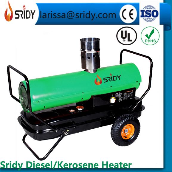 SRIDY kerosene heaters industrial oil forced heaters 20kw-60kw heating exchange