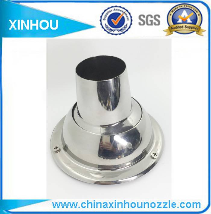 Dust removal hot air shower vent diffuser nozzle