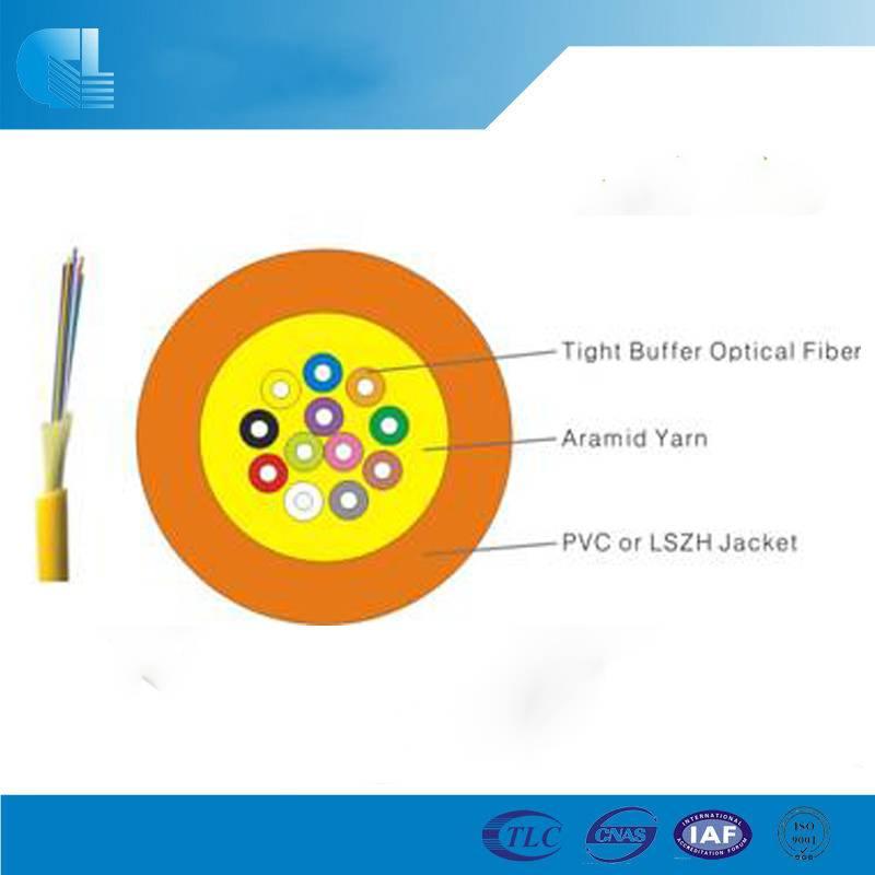 Indoor Multi Purpose Distribution Fiber Optic Cable (GJFJV)