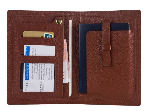 PH918 Genuine Leather Passport Holder