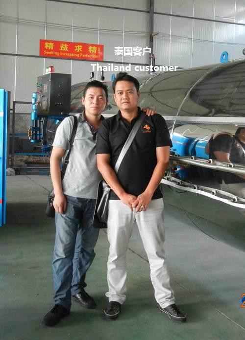tire retreading machine-Thailand cutomer