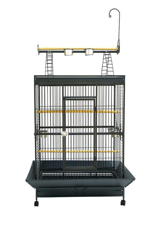 Large Parrot Cage Metal Cage with Play Top