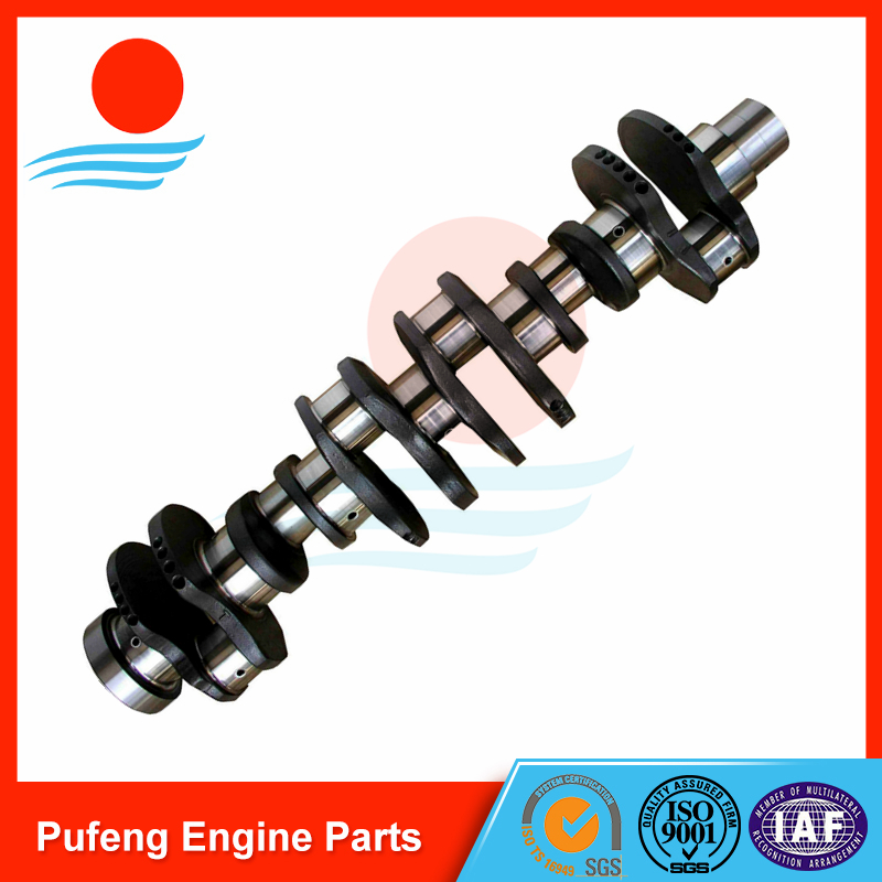 Cummins crankshaft 6BT 3907804 3908032 for KOMATSU excavator PC200-6 PC200-7