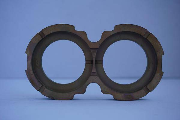 Bronze thrust plate for gear pump P51
