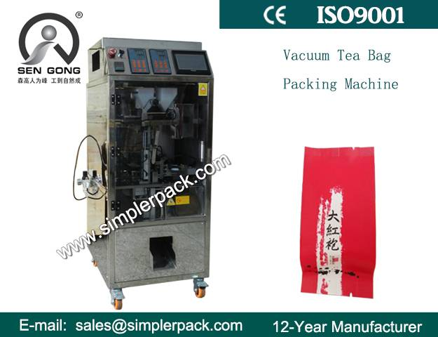 Loose Tea Packaging Machine with Outer Envelope