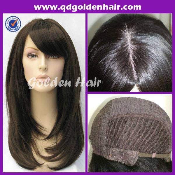 Best Selling Fashion High Quality Remy Human Hair Hot Jewish Wig Kosher Wigs
