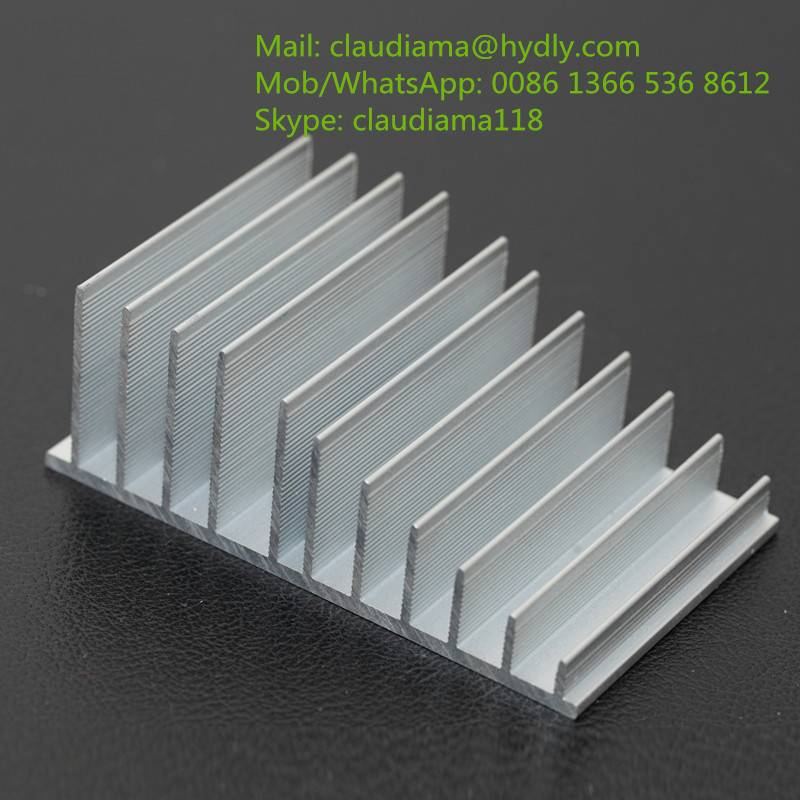 aluminium extrusion profile for heat sink